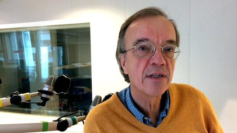 Magnus Ericsson, professor i mineralekonomi vid LTU.