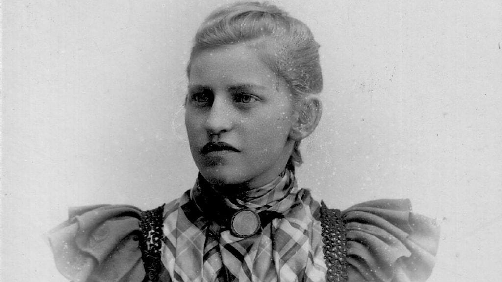 Märta Bucht lärare på flickskolan i Luleå.