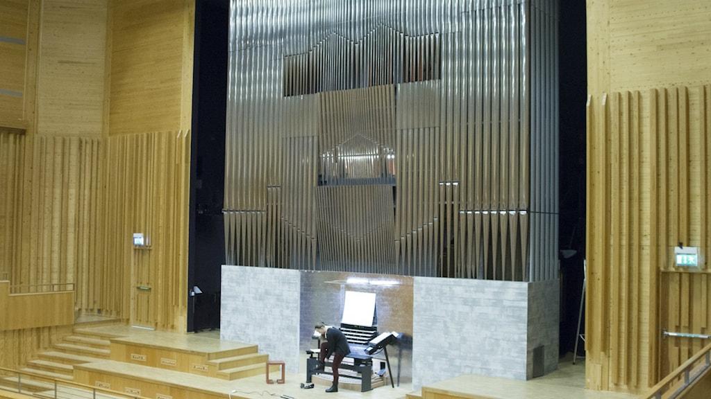 Orgel i Piteå.