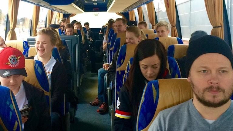 Luleå hockey/MSSK på väg mot den första SM-finalen. Foto: André Pettersson/ Sveriges Radio