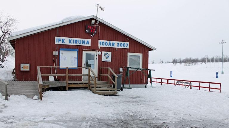 Matojärvi skidstadion i Kiruna behöver rustas upp.