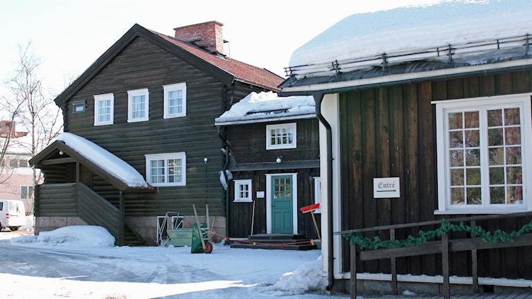 Byggnadsminnet Hjalmar Lundbohmsgården i Kiruna ska flyttas.