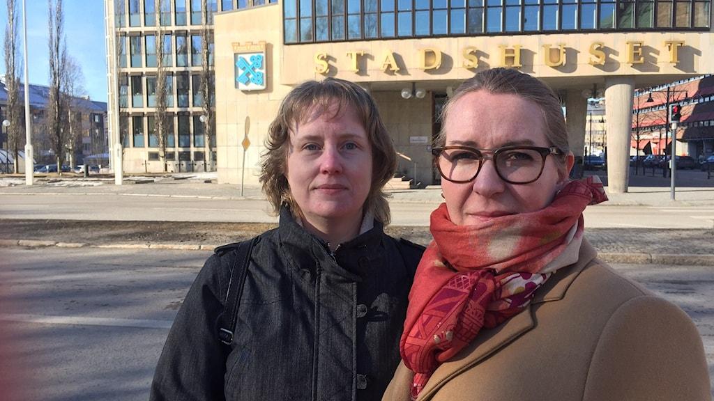 Kerstin Lindström och Anna Utsi, föreningen Attention i Luleå