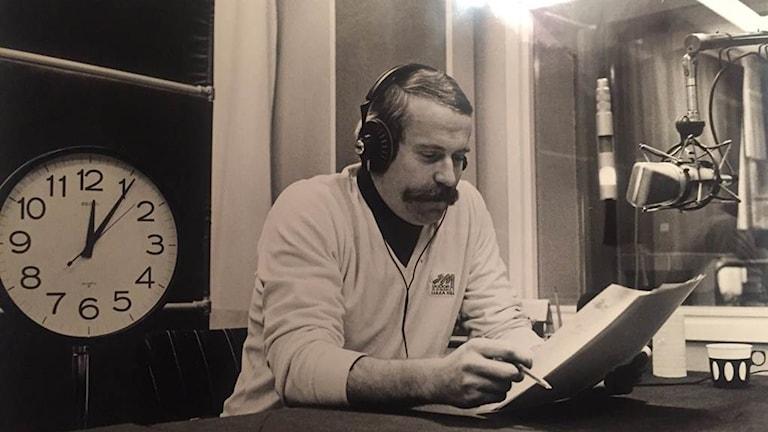 Den tidigare medarbetaren vid Sveriges Radio Olle Westerlund.