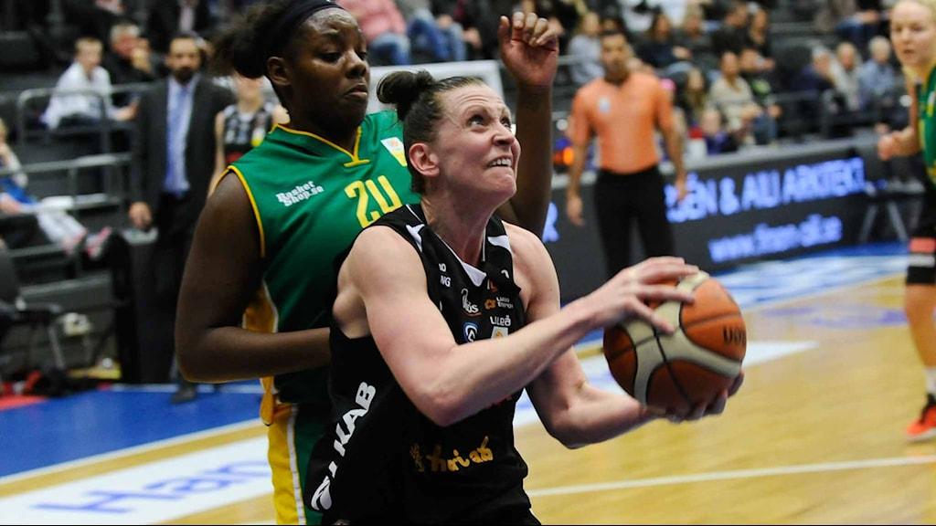 Luleå Baskets Anna Barthold. Foto Alf Lindbergh pressbilder AB