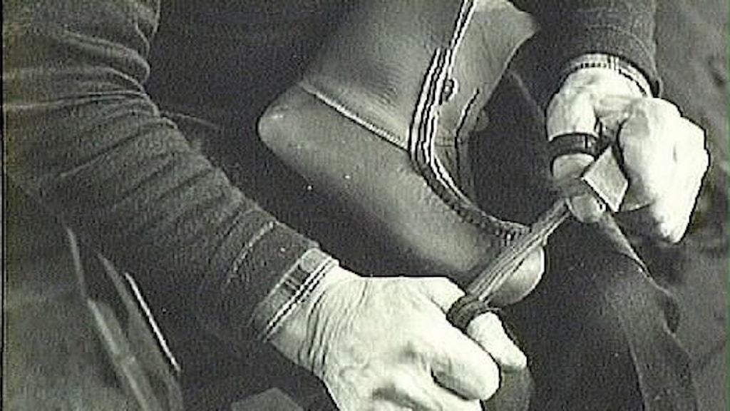 Tillverkning av näbbskor