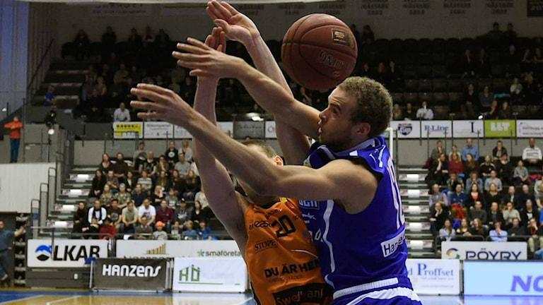 Basketmatch. Foto: Alf Lindbergh/Pressbilder