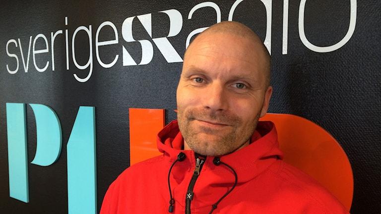 André Bengtsson. Foto: Ann-Christine Wallner-Hoppe/ Sveriges Radio
