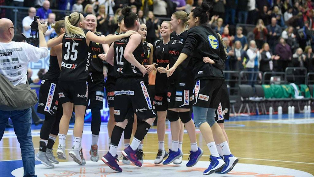 Luleå Basket gick till SM-final.