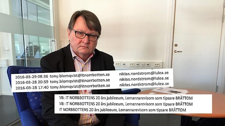 Tony Blomqvist, vd för IT Norrbotten