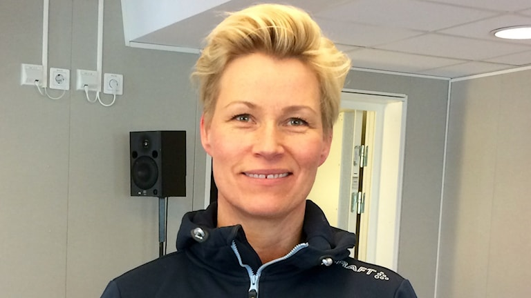 Sara Lindfors, antidopningsansvarig på Norrbottens idrottsförbund.