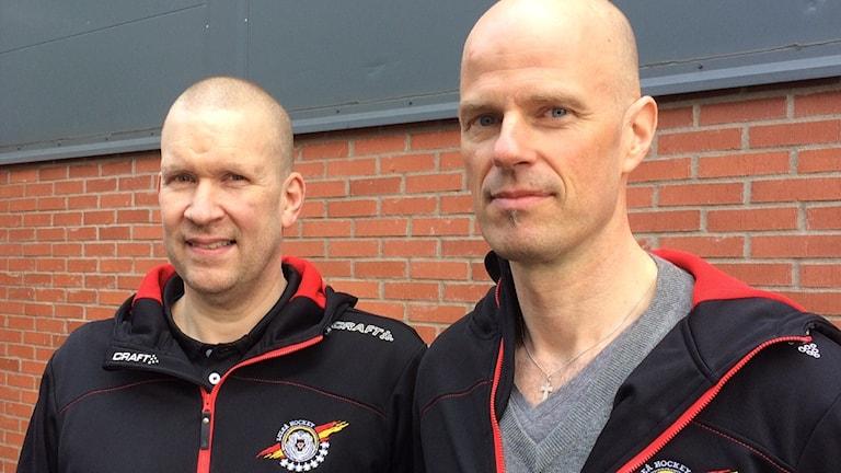 """Stefan """"Skuggan"""" Nilsson och Petter Lasu Nilsson."""