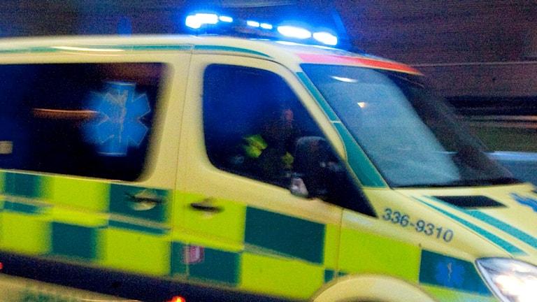 Ambulans. Foto: Bertil Ericsson/TT