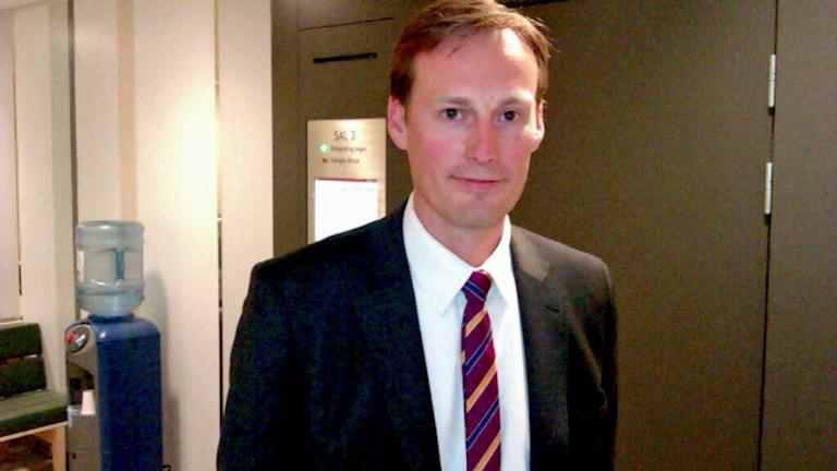 Advokat Jonas Westerlund.