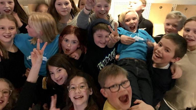 Rosviks skola gick vidare till finalen.