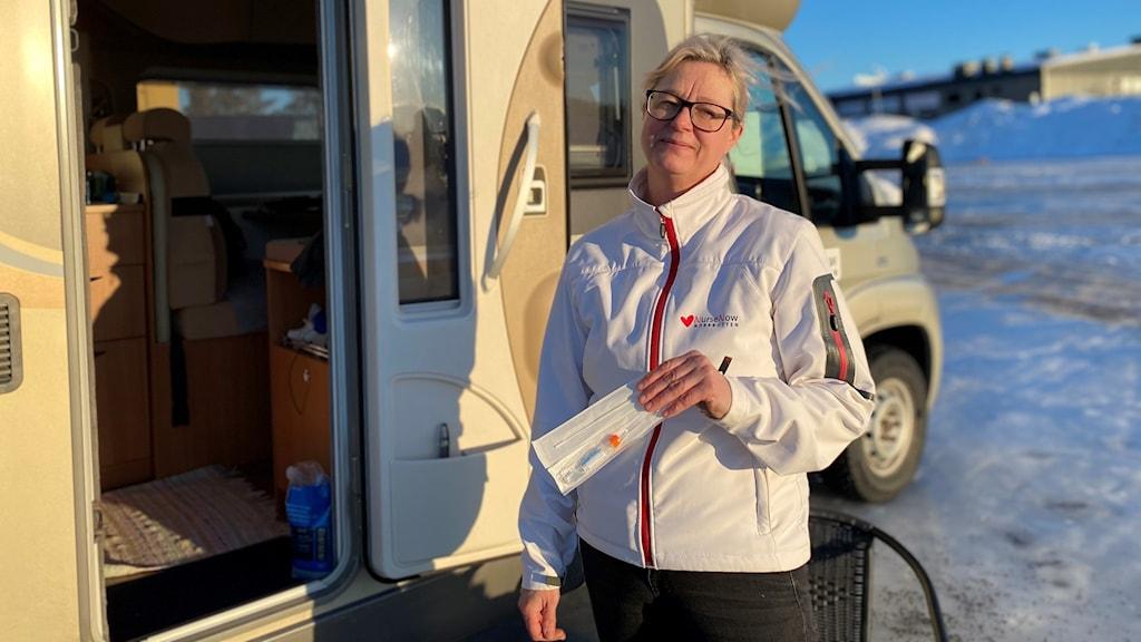 sjuksköterskan Maria Larsson