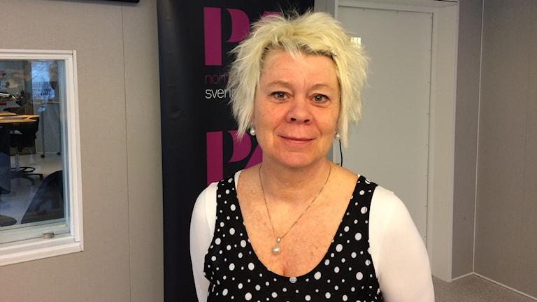 Psykoterapeut Lotta Lindgren.