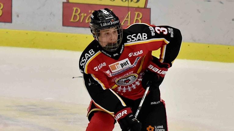 Luleå Hockeys Nils Lundkvist