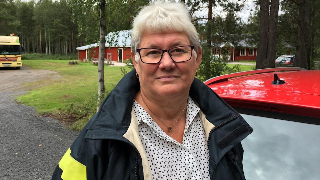 Marita Nilsson Vennberg från Frivilliga resursgruppen i Boden.