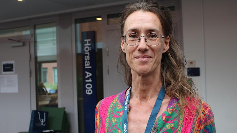 Maria Pettersson, professor i miljö- och naturresursrätt vid Luleå tekniska universitet.