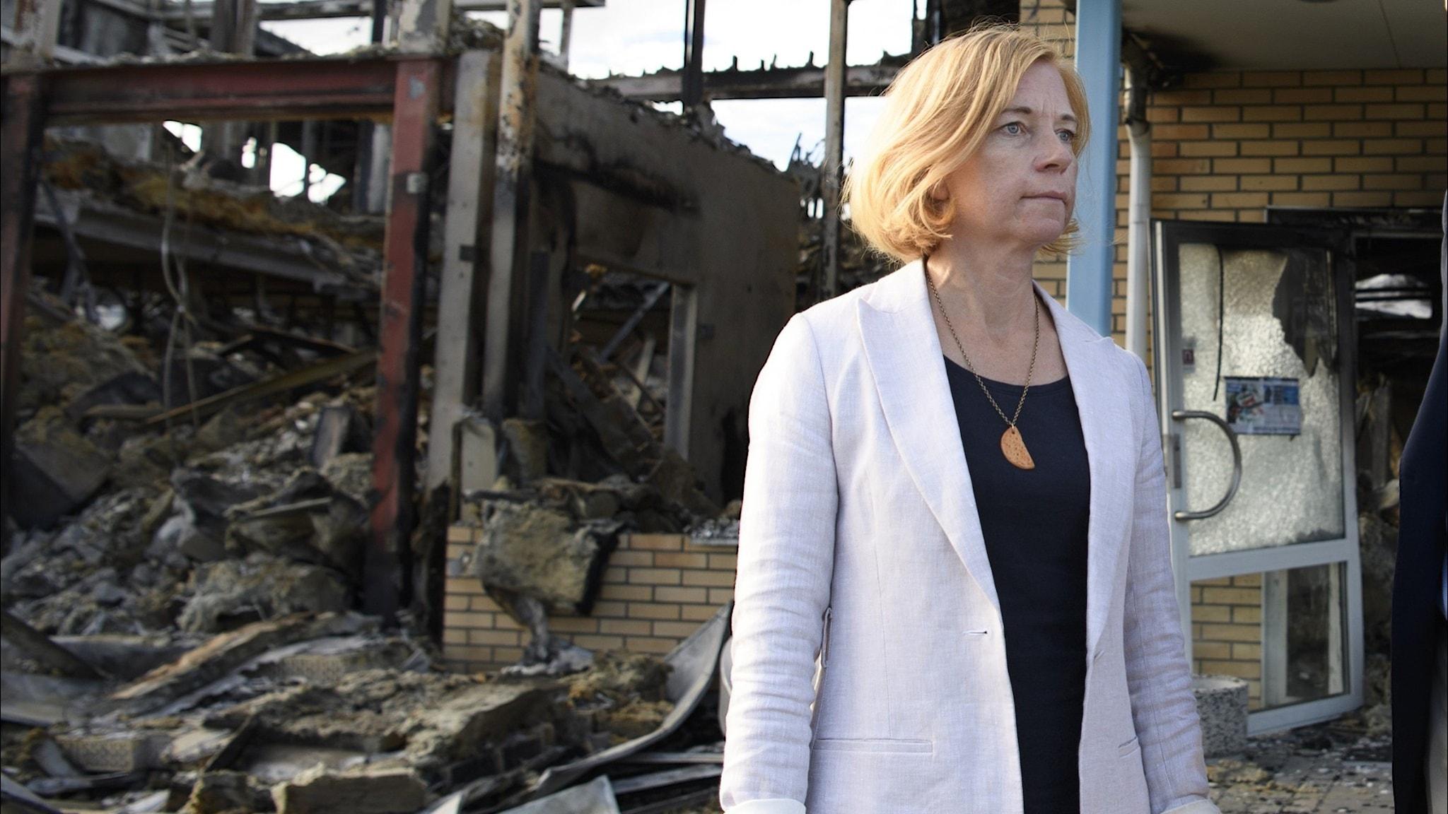 """Karin Bodin: """"Vi såg ju, rakt framför våra ögon, hur det bara brann upp"""""""