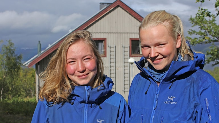 Andrea Karlsen Rye och Hilde Kaspersen vandrar genom hela Norge, från norr till söder. Efter en paus i Abisko fortsatte färden.