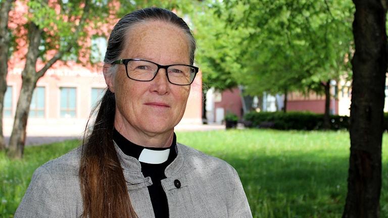 Biskopskandidat Åsa Nyström.
