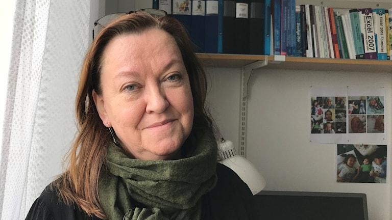 Maria Nilsson, forskare vid instutitionen för epidemiologi och global hälsa vid Umeå Universitet.