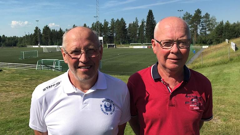 Harry Pettersson Bengt Nyström, Alviks IK