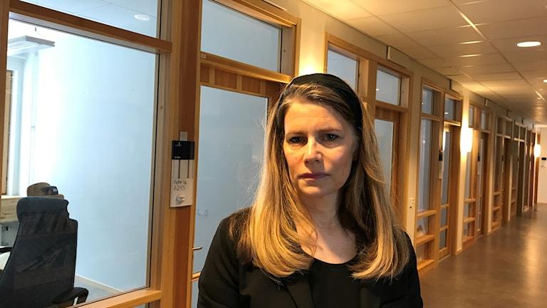 Caroline Greaske, avdelningschef för lärarutbildningen på LTU