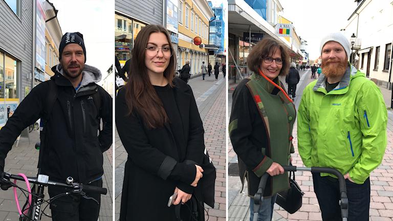 Piteåborna Thomas Rönnlund, Emma Svanberg, Birgitta Elfgren och Daniel Elfgren