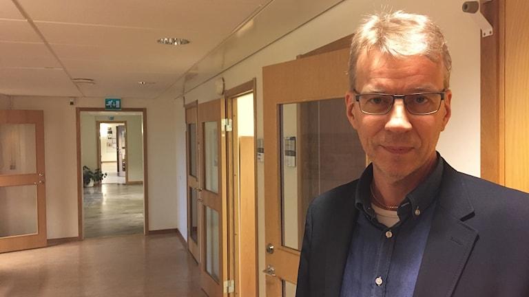 Luleå kommuns ekonomichef Jan Öström. FOTO: Emil Larsson/SverigesRadio.