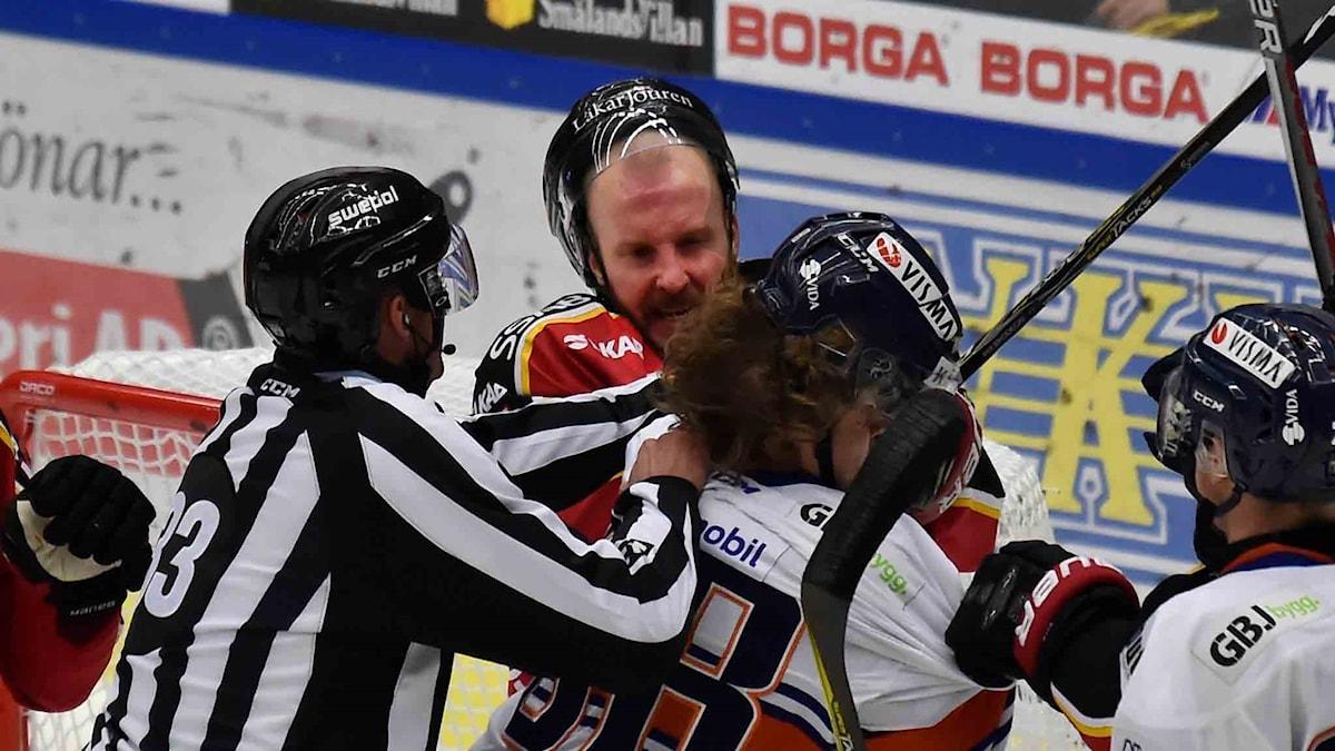 Luleå Hockey mot Växjö Lakers.
