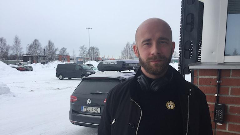 David Rautio, målvakt i Brynäs med rötterna i Luleå.