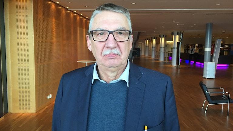 Åke Broström, kulturchef i Luleå kommun.