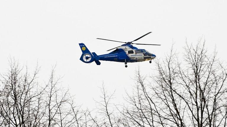 Ambulanshelikopter, sjuktransport
