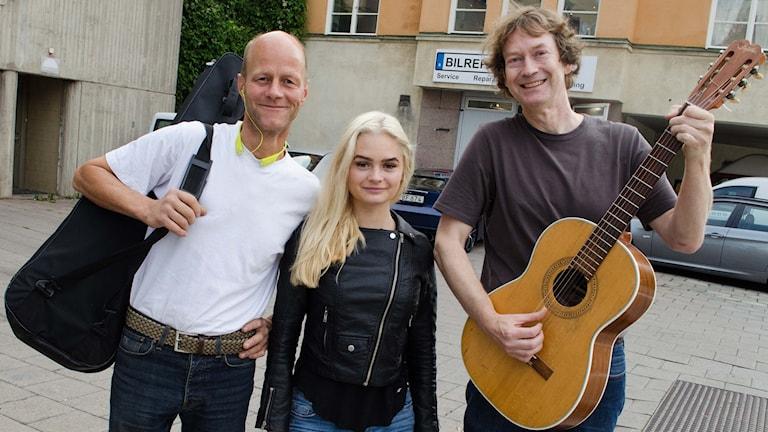 Gunnar, Sofia Hjerpe, Magnus Hjerpe,