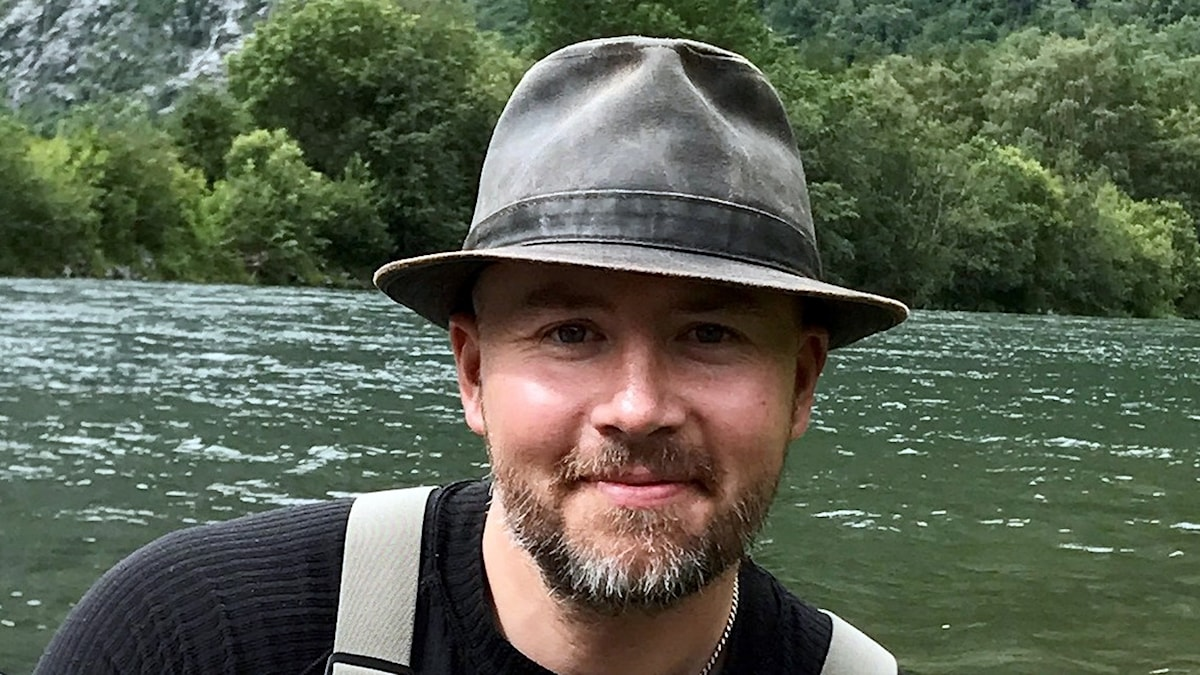 Daniel Melin, fritidsfiskesamordnare på Jordbruksveket.
