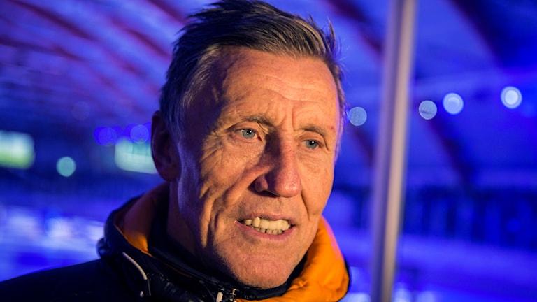 Ishockeylegendaren Börje Salming.
