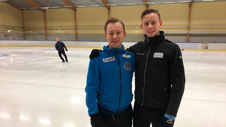 Alexander och Nikolaj Majorov från Luleå.