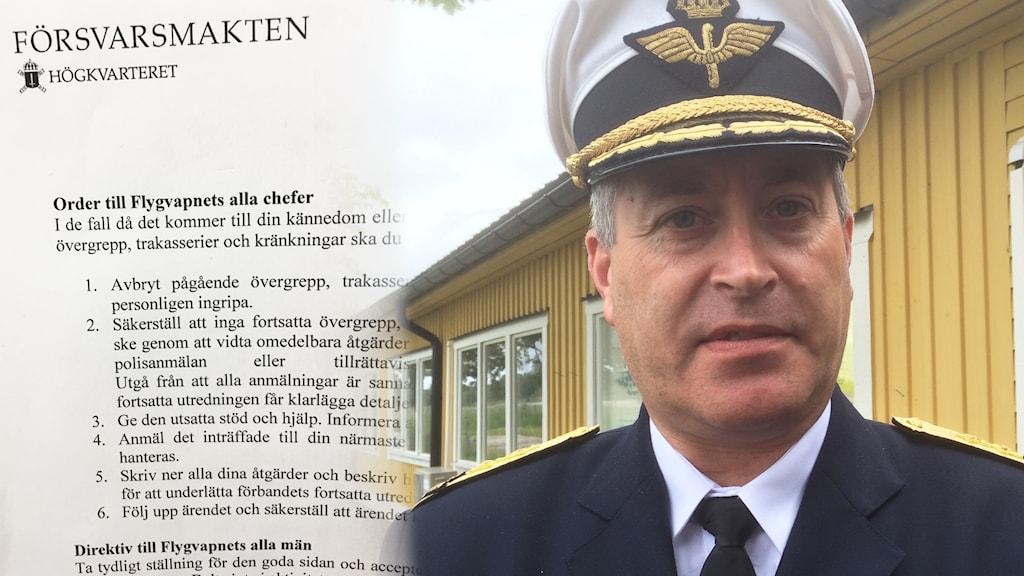 Mats Helgesson, flygvapnets chef.