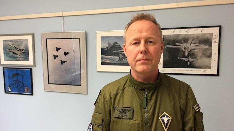 Car-Johan Edström, chef F 21