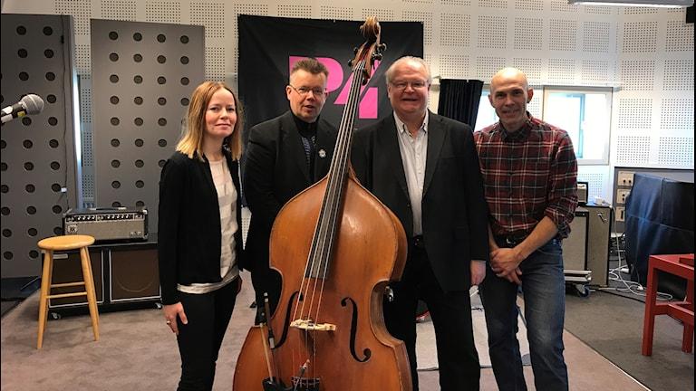 WAO består av Markus Falck, Göran Eriksson, Arto Järvelä samt Jan Johansson och Susanne Rantatalo.