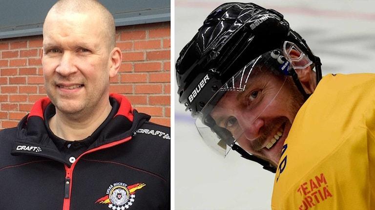 "Stefan ""Skuggan"" Nilsson och Janne Sandström."