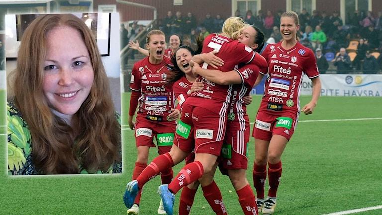 Frida Lundström hare nästan aldrig missat en match med Piteå IF.