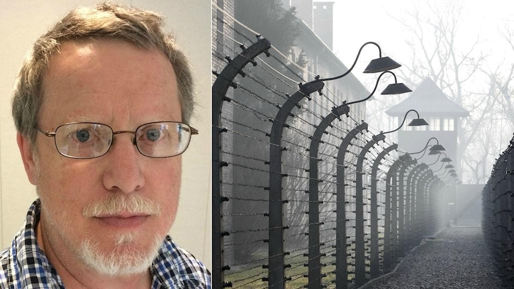 Curt Persson som är professor i historia anser att det är viktigt att påminnas om Förintelsen.