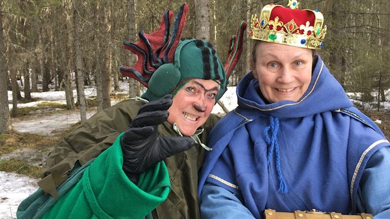 Eva-Britt Tjärnqvist och Zara Nilsson