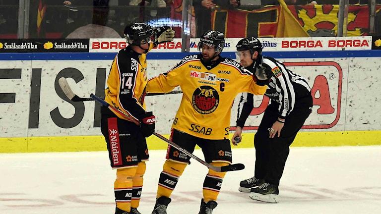 Måljubel Luleå Hockey-Mora