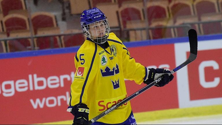 Luleå Hockey/MSSK:s Johanna Fällman.