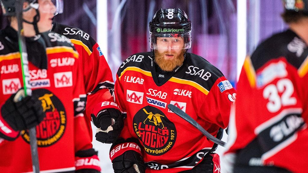 Linus Klasen var en av Luleå Hockeys målskyttar mot Modo